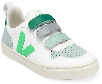 Veja Little Kid's & Kid's Esplar Leather Grip-Tape Sneakers
