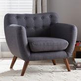 Baxton Studio Harper Mid-Century Modern Accent Chair