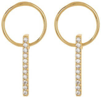 Gorjana Balboa Shimmer CZ Drop Earrings