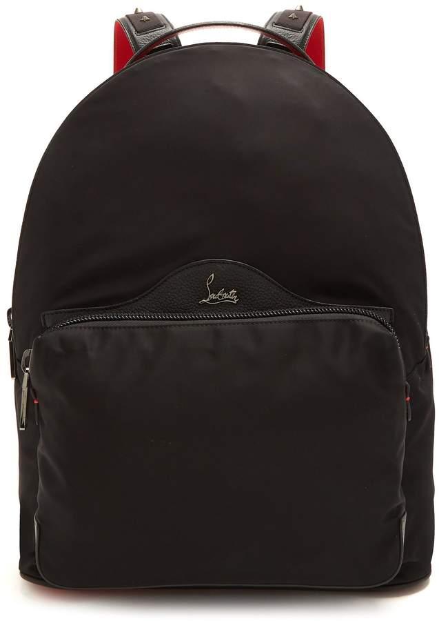 Christian Louboutin Backloubi spike-embellished backpack