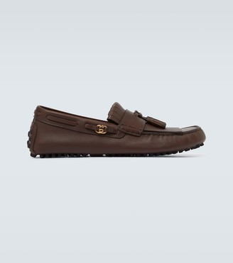 Gucci Ayrton tasseled leather loafers