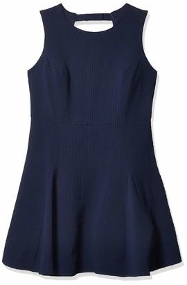 Julia Jordan Women's Plus Size Navy Fit and Flare Dress 20W