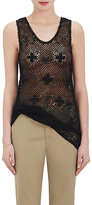 Chloé WOMEN'S COTTON-BLEND CROCHET & LACE SLEEVELESS TOP
