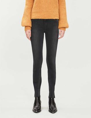Paige Verdugo skinny high-rise stretch-denim jeans