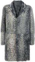 Emporio Armani textured coat