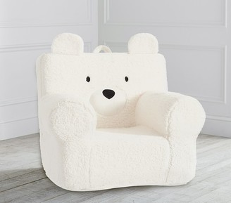 Pottery Barn Kids St. Jude Peanut Bear Cozy Sherpa Anywhere Chair
