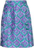 G.V.G.V. jacquard mini skirt