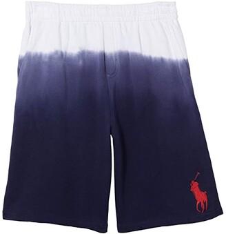 Polo Ralph Lauren Kids Terry Shorts (Big Kids) (White) Boy's Shorts