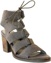 Bos. & Co. Taupe Brooke Suede Sandal