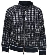 Moncler Fiadone Tweed Print Jacket