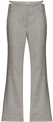 Xu Zhi Checked Split Front Trousers