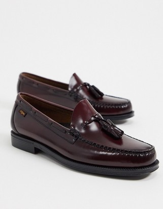 G.H. Bass & Co. Easy Weejuns Larkin tassel loafer in burgundy leather