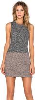 Eternal Sunshine Creations Tweed Tweggy Mini Dress