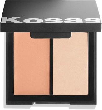 Kosas Color & Light Cream Blush & Highlighter Palette