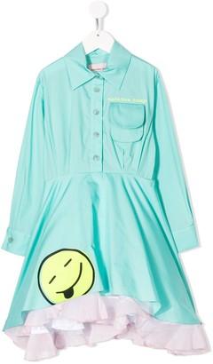 Natasha Zinko Kids Embroidered Shirt Dress