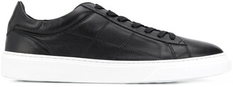 Hogan Low Top Lace Up Sneakers