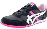 Onitsuka Tiger by Asics Serrano Women Round Toe Leather Black Sneakers.