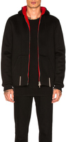 Givenchy Zip Up Hoodie in Black,Red.