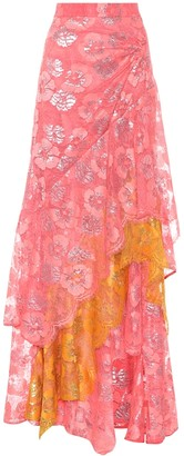 Peter Pilotto Lace maxi skirt