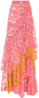 Peter Pilotto Lace maxi skirt