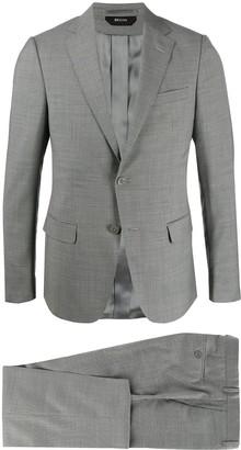 Ermenegildo Zegna Slim-Fit Checked Suit