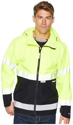 Timberland Work Site High-Visibility Waterproof Jacket (High-Visibility) Men's Coat