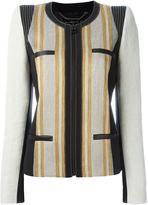 Barbara Bui panelled zip jacket
