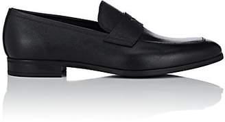 Prada Men's Saffiano Leather Penny Loafers - Black