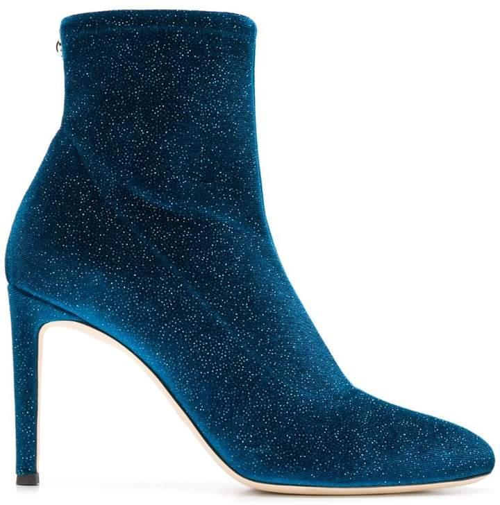 Giuseppe Zanotti Design velvet ankle boots