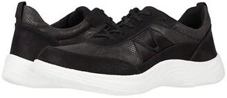 Clarks Lulu Walk (Black Textile Combination) Women's Shoes