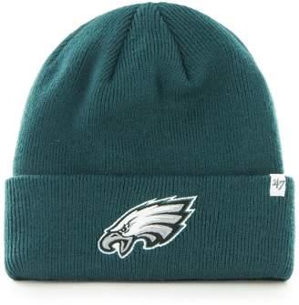 '47 NFL Philadelphia Eagles Raised-Cuff Beanie