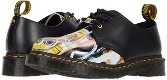 Dr. Martens 1461 Basquiat (Black/Multi Dustheads Basquiat Backhand/Smooth) Shoes