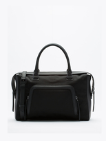 DKNY Tech Nylon Large Satchel