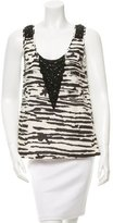 Marissa Webb Printed Sleeveless Top w/ Tags