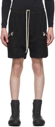 Rick Owens Black Running Shorts