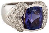 Ring Tanzanite & Diamond