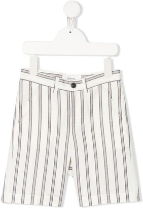 Bonpoint Striped Knee-Length Shorts