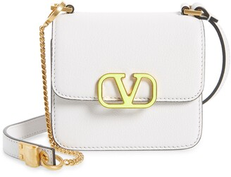 Valentino Micro VSling Leather Shoulder Bag