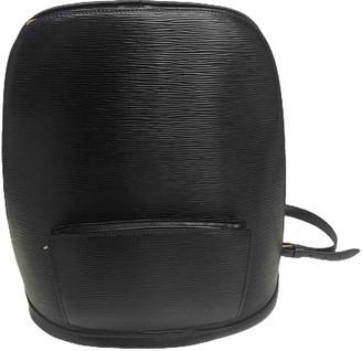 Louis Vuitton Gobelins Vintage Black Leather Backpacks