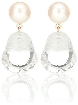 Sophie Bille Brahe Venus Vere pearl earrings
