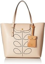 Orla Kiely Textured Leather Tillie Top-Handle Bag