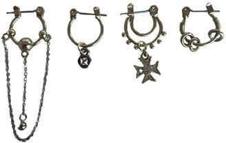 Luv Aj Gold Metal Earrings