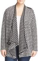 Lysse Plus Striped Wrap Sweater