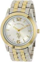 U.S. Polo Assn. Men's Two Tone Dial Bracelet Watch USC80021