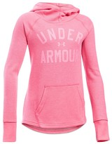 Under Armour Girls' Logo Waffle Knit Hoodie - Sizes XS-XL