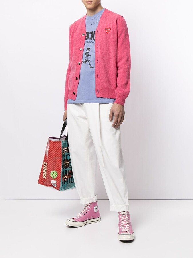 Thumbnail for your product : Comme des Garcons V-Neck Buttoned Cardigan