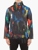 Y-3 Distorted Print Windbreaker Jacket