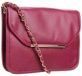Ivanka Trump Crystal Crossbody Flap (Rose) - Bags and Luggage