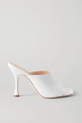 Magda Butrym Estonia Leather Mules - White