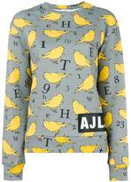 Au Jour Le Jour bird print sweatshirt